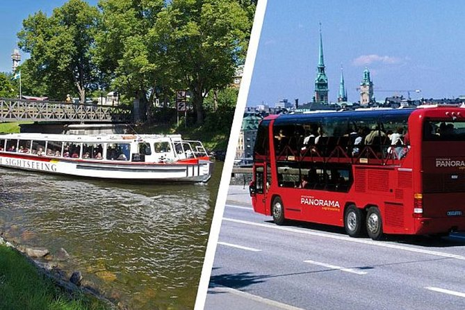 Stockholm in a Nutshell by bus and boat