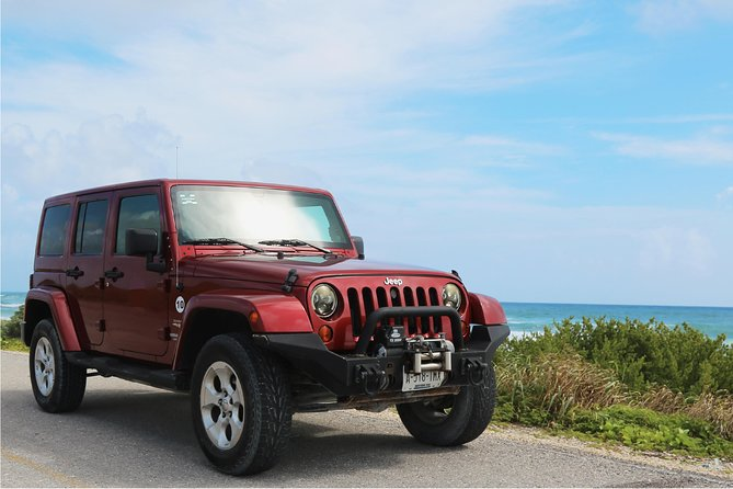 The Original Jeep Tour Revamped by Tortugas Cozumel® (Private)