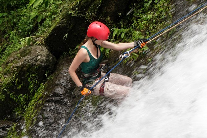 Rappel in the Anton Valley