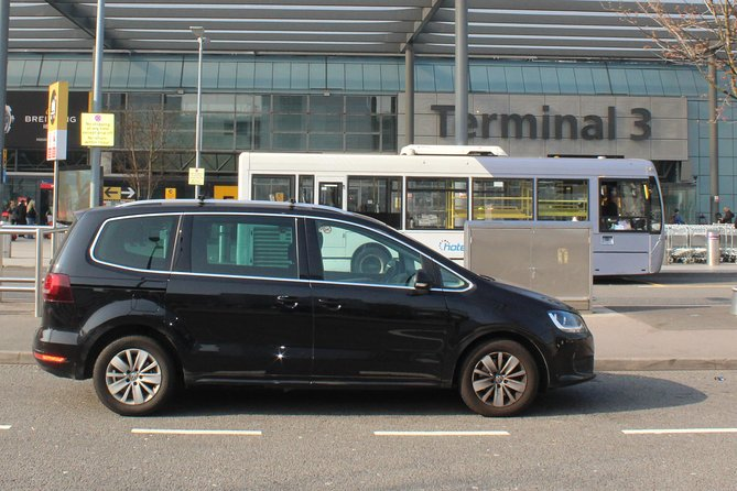 Private Transfer from Heathrow Airport to St Pancras Station via London Hotel