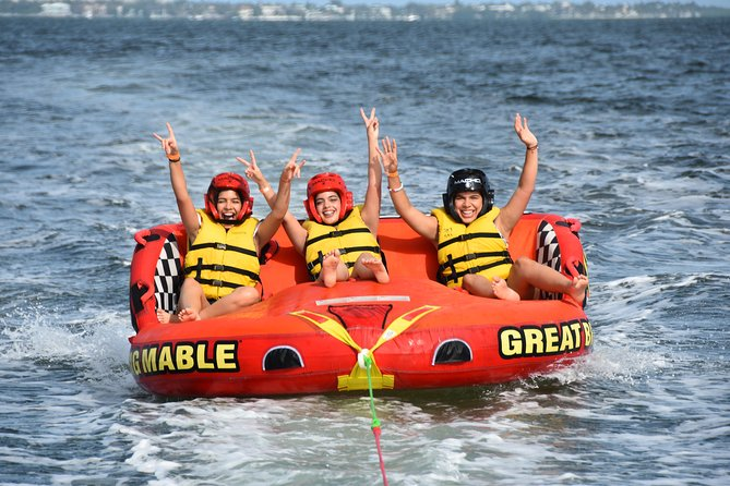 (Parasail or Jet Ski) + Tubing with Miami Watersports