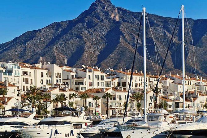 Private tours from Malaga to Marbella and Puerto Banus for up to 8 persons