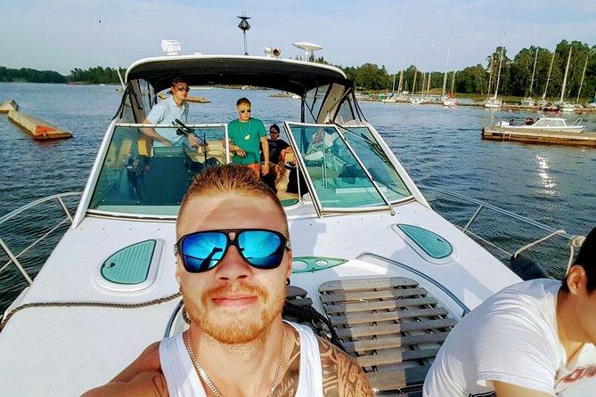 Helsinki archipelago private yacht charter