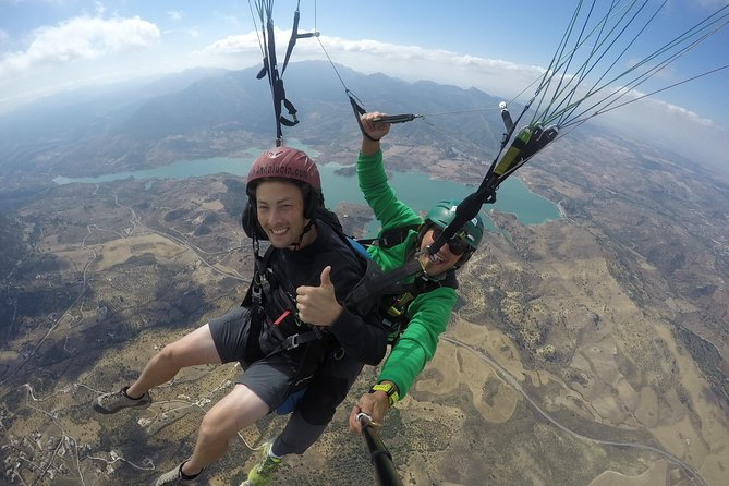 Paragliding and Paramotoring in Ronda