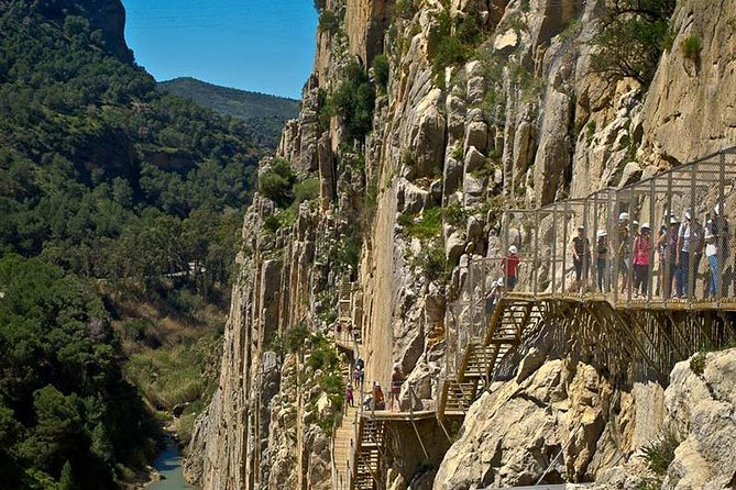 Private tours from Malaga to the Caminito del Rey for up to 8 persons