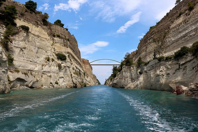 Private Biblical Tour of Ancient Corinth & Isthmus Canal from Athens & Corinth