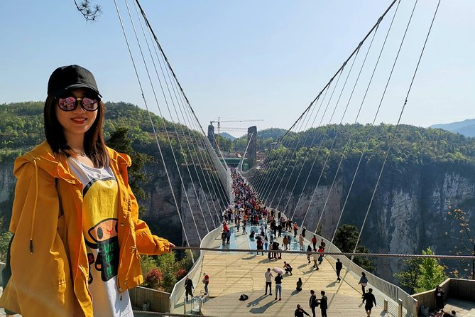 1 Day Zhangjiajie Glass Bridge and Grand Canyon plus Lunch in the CAVE