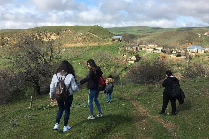 Hiking to the caves - Gobustan