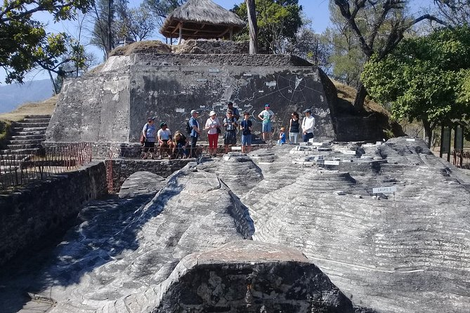 Tour of Mayan Indigenous flower market and Mixco Viejo Ruins