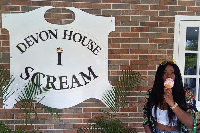 Devon House Tour com sorvete da Kingston
