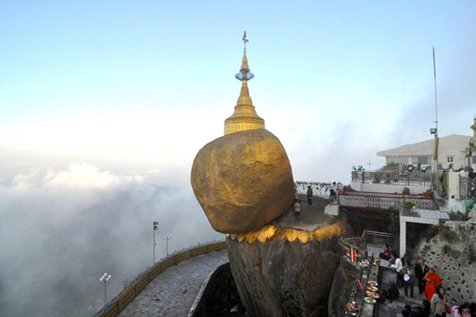 4 Days Private Trip to Golden Rock Pagoda and Bagan