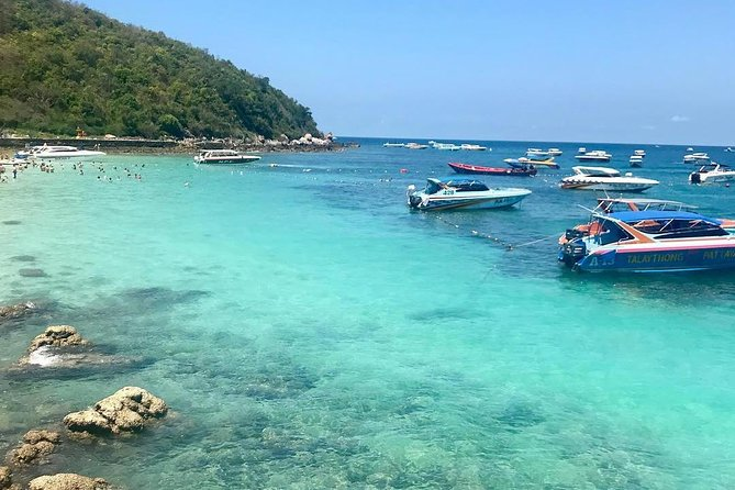 Day Trip to Coral Island with Lunch by Speedboat from Phuket