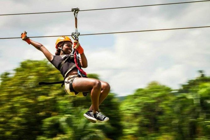 Zip - Line Samana with Playa El Valle Lunch and Expert Local Tour Guide