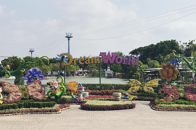 Dream World and Snow Town from Bangkok
