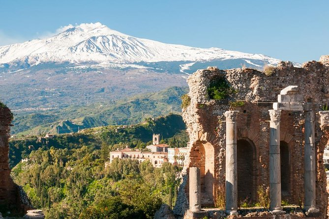 Exclusive Shore Excursion from Messina port to Taormina and Mount Etna
