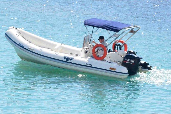 Rent a Rib Boat in Santorini (Boat Tina)