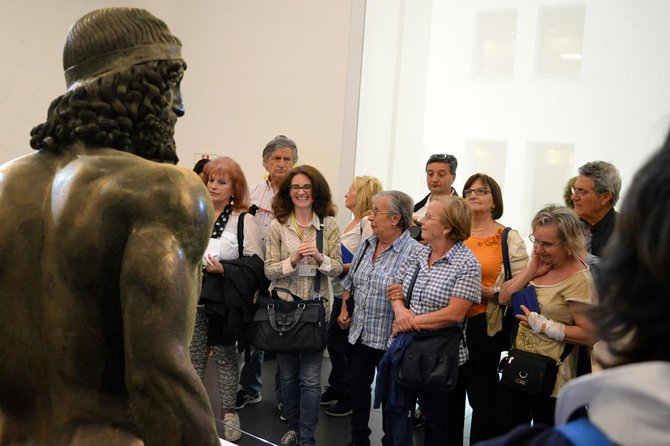 Guided tour of the Riace Bronzes and the Archaeological Museum of Reggio Calabria