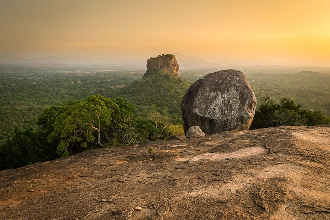 Private Day Trip to Pidurangala Rock & Jeep Safari From Colombo