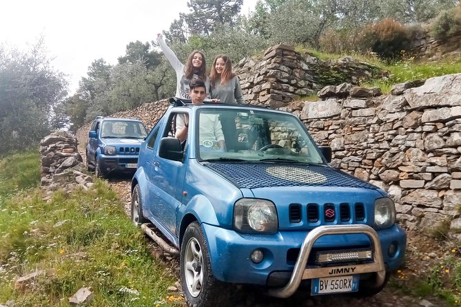 4X4 PANORAMIC TOUR OFF-ROAD of the Pisan Mountains