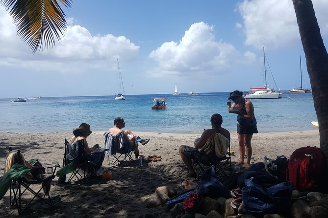 Beach n Chill Tour in St. Lucia