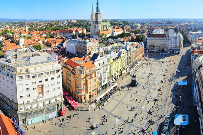 Zagreb City Small Group Walking Tour
