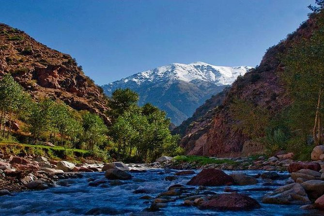 Excursion in the Ourika valley with Berber lunch in the mountains