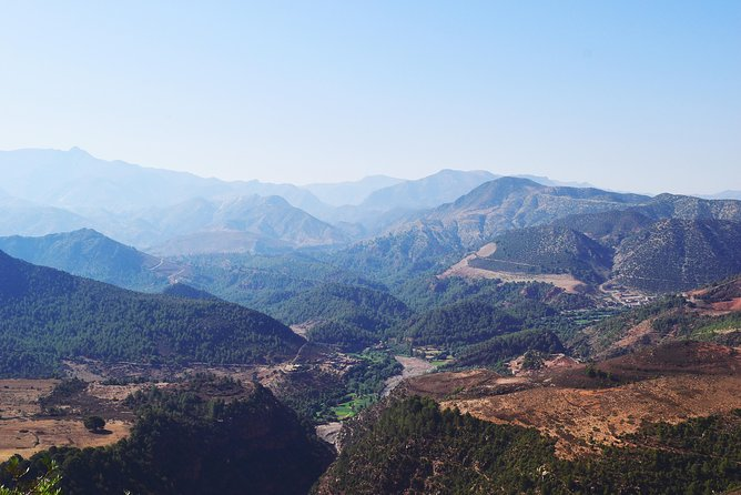 PRIVATE 1 Day Trip to the 4 VALLEYS of the High Atlas Mountains