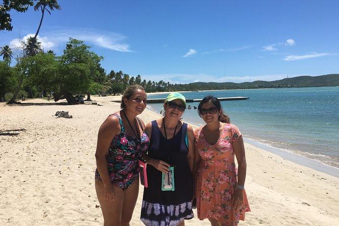 Have fun at the public beach of Boqueron at El Poblado
