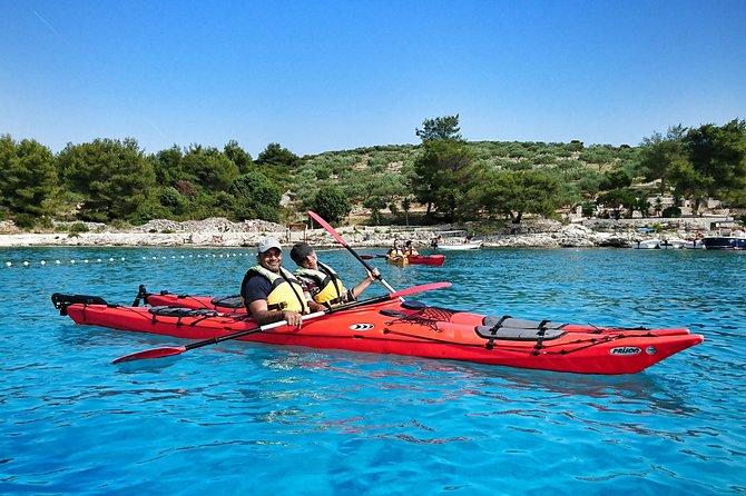 Kayaking Tour from Split: Hvar and Pakleni Islands