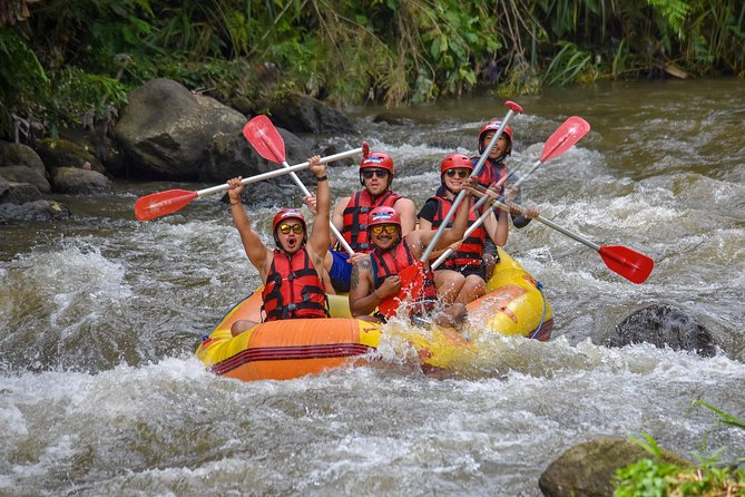 Ubud Thrilling Quadbike & Ayung White Water Rafting
