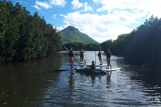 Stand Up Paddle excursion on the Tamarin River