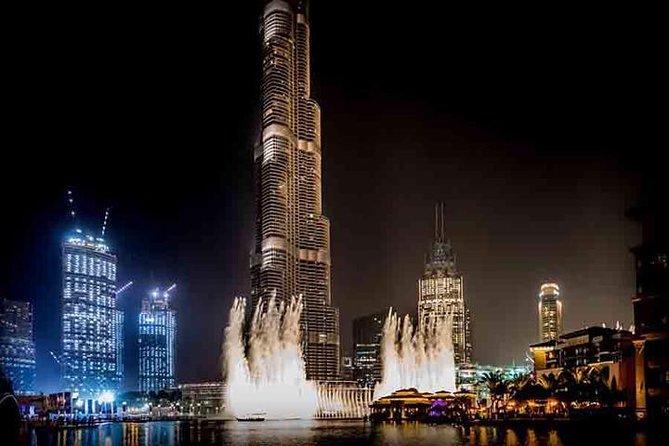 BURJ KHALIFA AT THE TOP WITH DUBAI FOUNTAIN SHOW