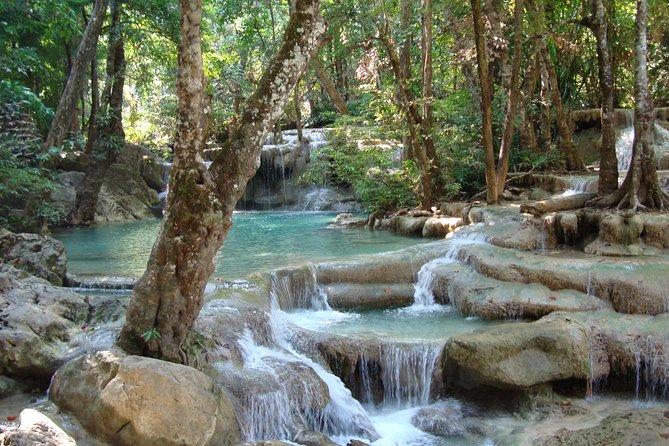 From Kanchanaburi: Erawan National Park Half Day
