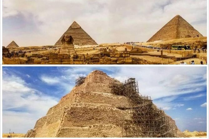 The Great Pyramids of Giza, Saqqara (Memphis) & Dahshur Sights Tour