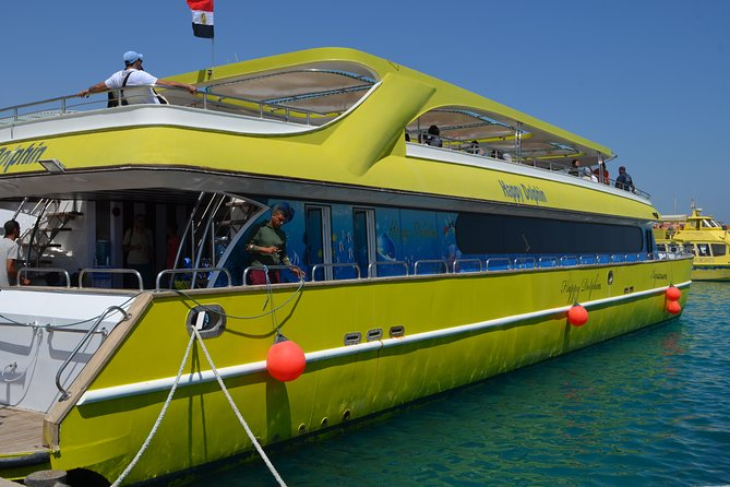 Happy Dolphin Semi Submarine Snorkeling Sea trip - Hurghada