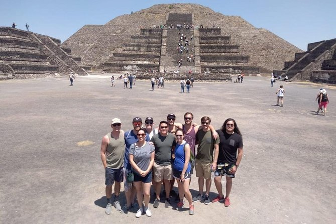 Private from Mexico City: Pyramids of Teotihuacan & Basilica of Guadalupe