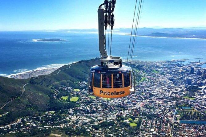 Cape Town Private Tour, Table Mountain Car & Constantia Wine Tasting