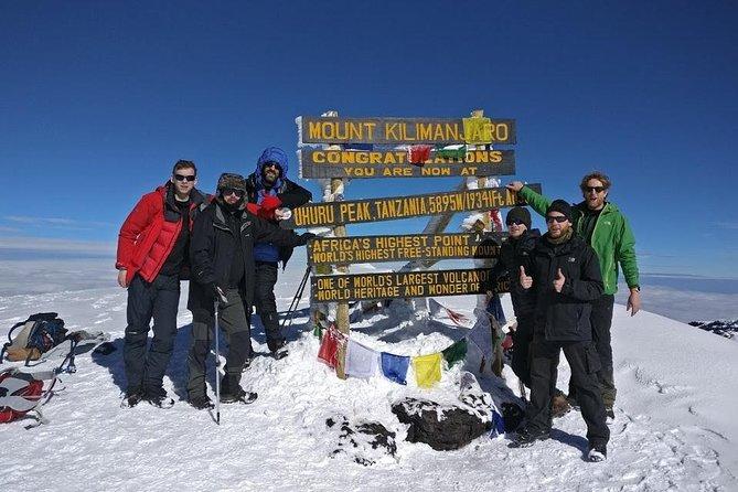 Mount Kilimanjaro-Marangu 5 days trekking