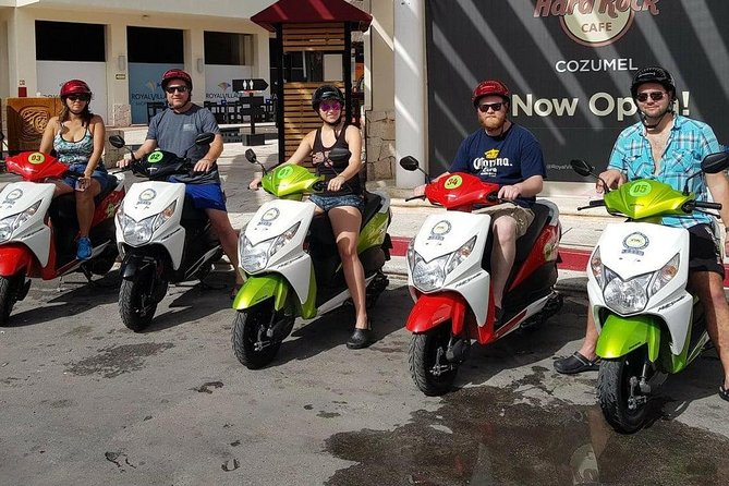 The Only Scooter Tour in Cozumel, Snorkel, Lunch, East Coast And City Tour