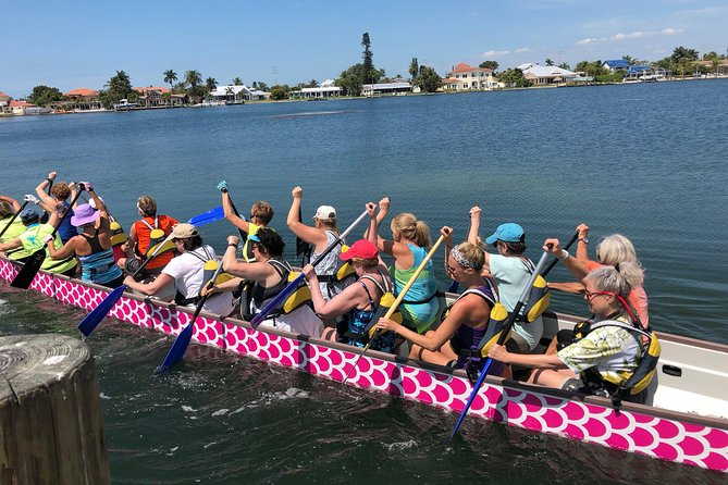 Dragon boat excursions in paradise