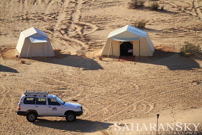Safari nel deserto del Sahara con campeggio notturno da Hammamet o Sousse