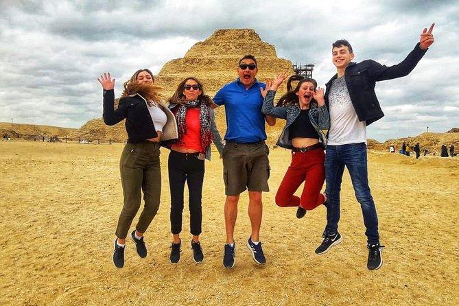 Giza pyramids, Sakkara and Memphis private tour