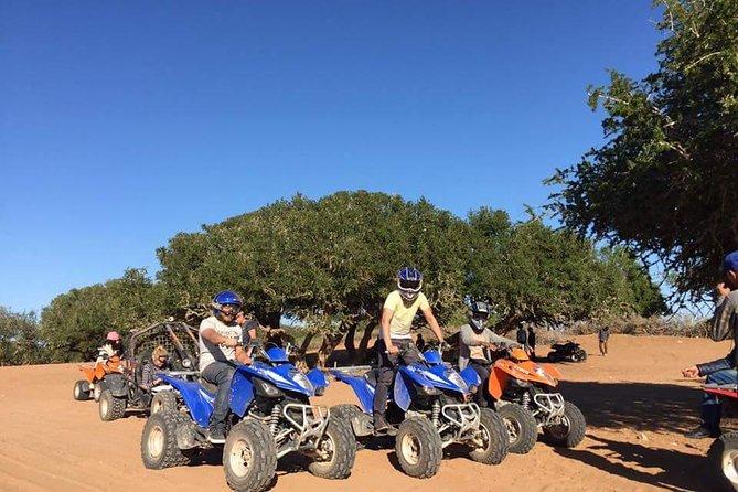 adventure quad agadir: half day sand dune and argan forest