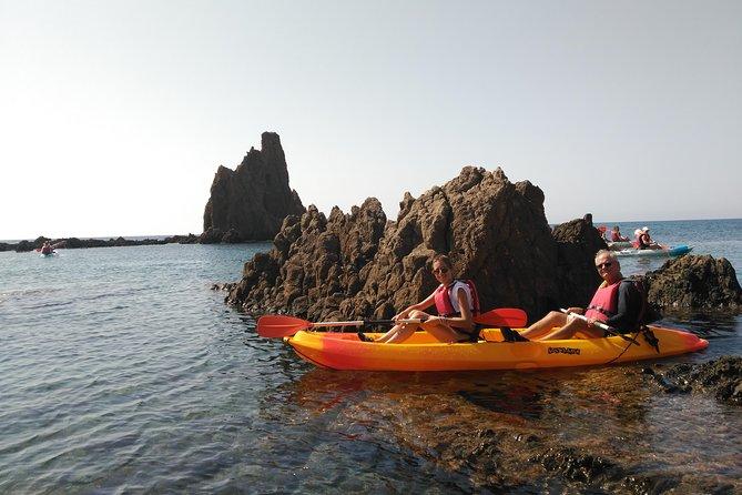Kayak Tour of Cabo de Gata Natural Park