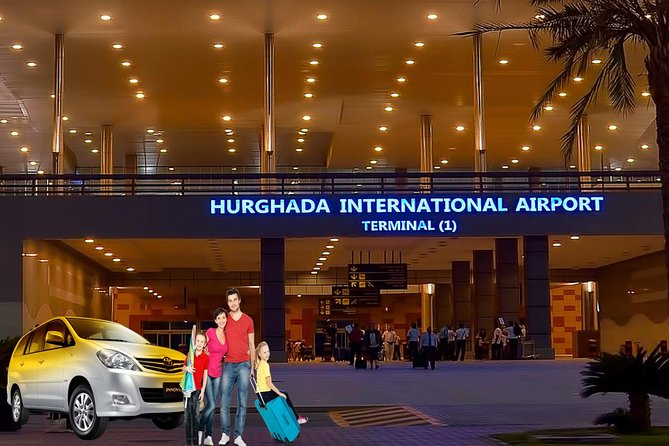 Private car transfer from Hurghada Airport to your El Gouna resort