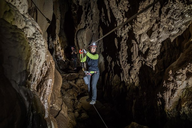 Caving adventure at the Caves of Equi Alpi Apuane
