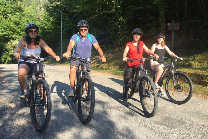 MTB e-bike rental at Equi Terme