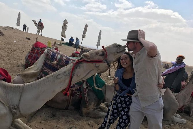 Private Day Tour: Giza Pyramids, Sphinx, Memphis, Sakkara and camel ride