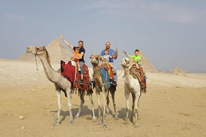 Private Cairo 2-Day Guided Tour and Camel Ride
