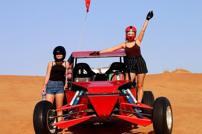 Buggy Self-drive In Red Desert With Camel Trekking Experience